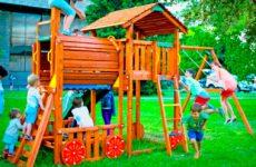 Безопасная детская площадка своими руками