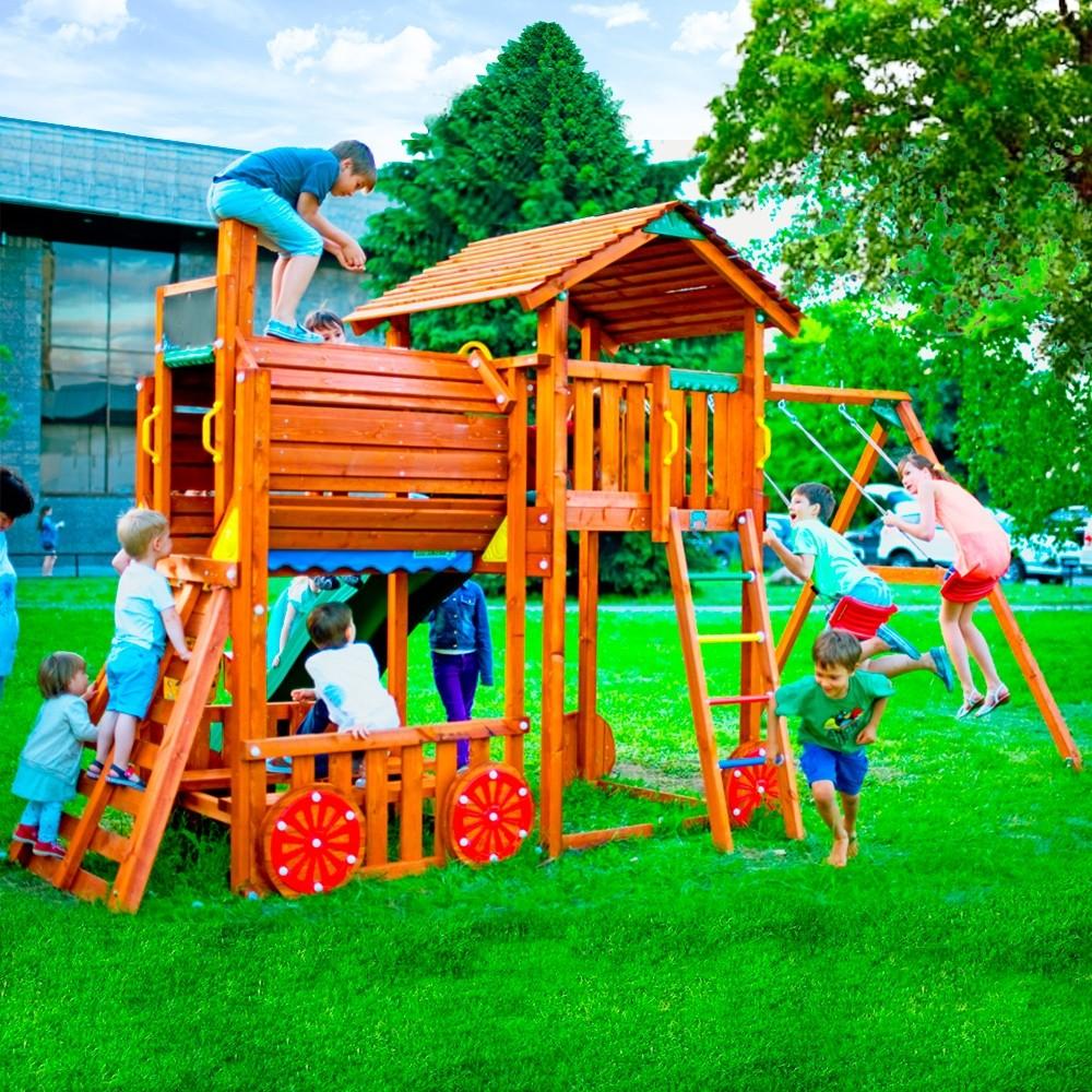 Детский игровой комплекс.