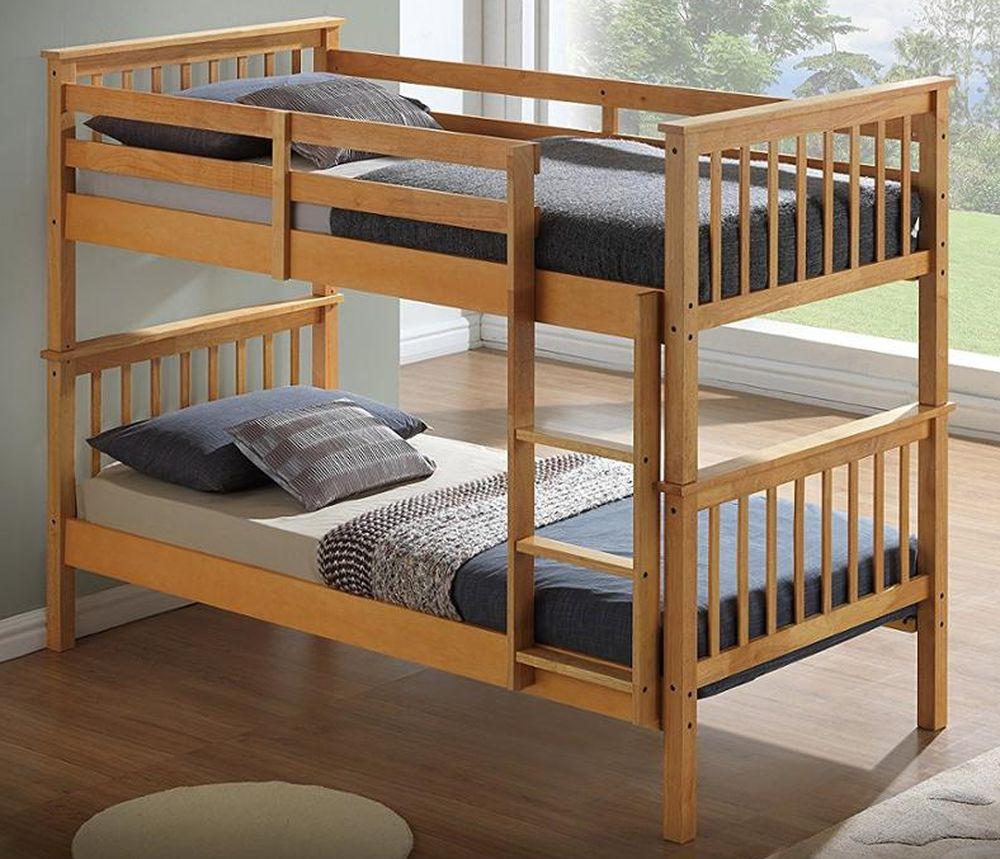 Классическая двухъярусная кровать.