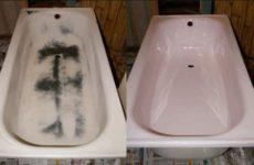 Реставрация старой ванны.