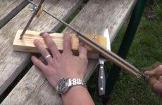 Бюджетная точилка для ножей своими руками