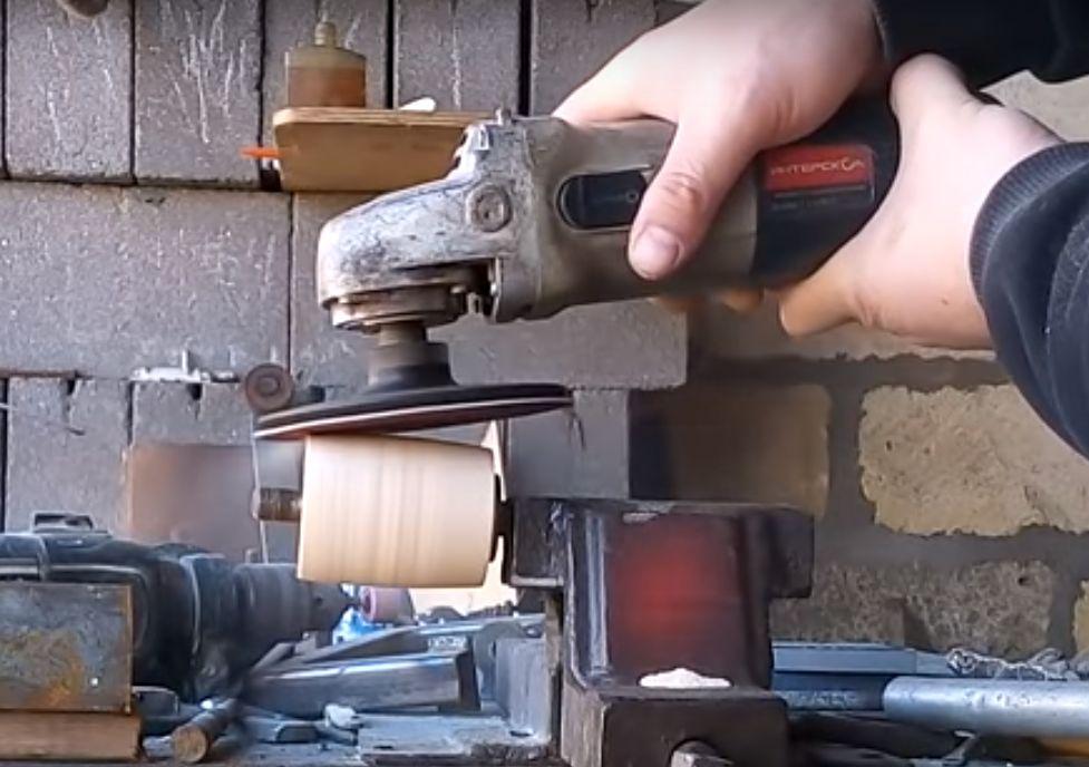 Изготовление ролика из фанеры.