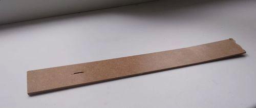 Пластинка из мдф толщиной 3мм.
