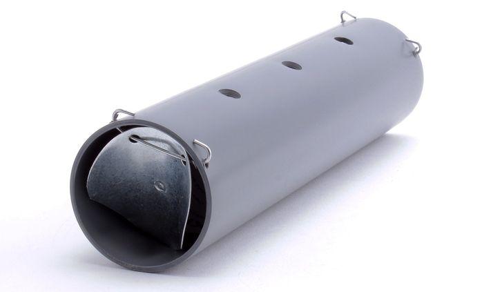 Ловушка кротов из пластиковой трубы.