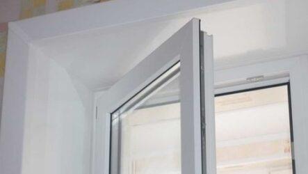 Делаем откосы на окнах несколькими способами.