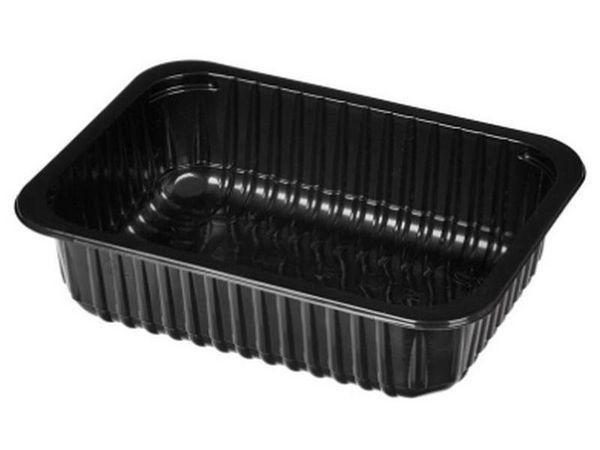 Пластиковый контейнер для порционного мяса.